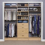 Walk In Closets; Small Closets
